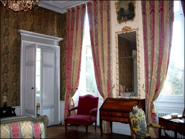 Ch teau st augustin 4 pis monument historique for Chambre louis xv