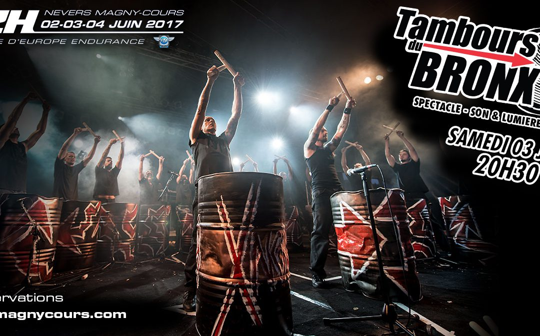 THE TAMBOURS DU BRONX IN CONCERT ON THE 3 JUNE!