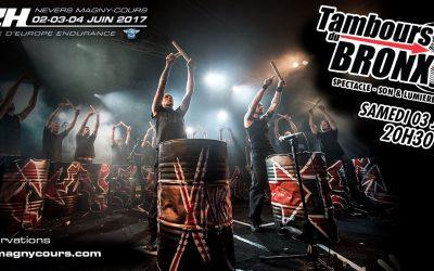 Tambours du Bronx en concert le 3 Juin !