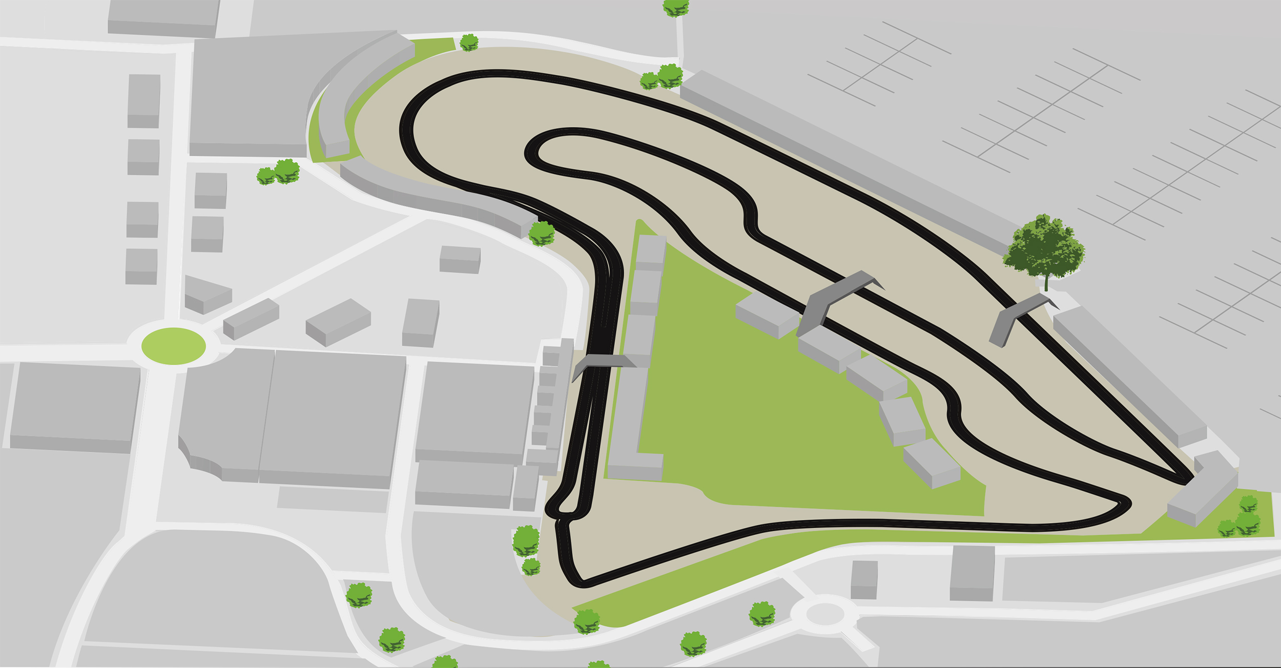 Map of the Circuit - Circuit de Magny-Cours