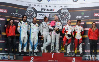 Première place pour BMW Team France !