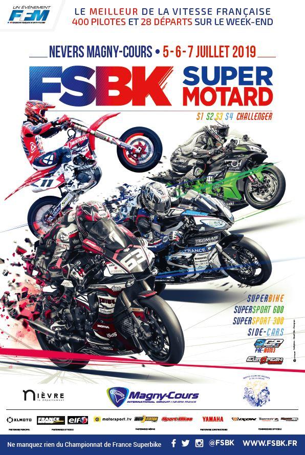 Championnats de France Superbike et Supermotard