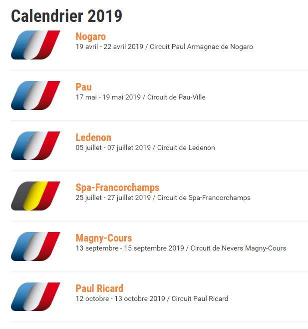 Calendrier Magny Cours 2020.Championnat De France Des Circuits Circuit De Magny Cours