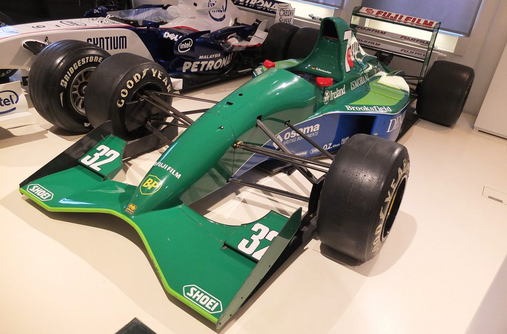 THE FABULOUS WORLD OF THE '90's F1 EXHIBITION' !