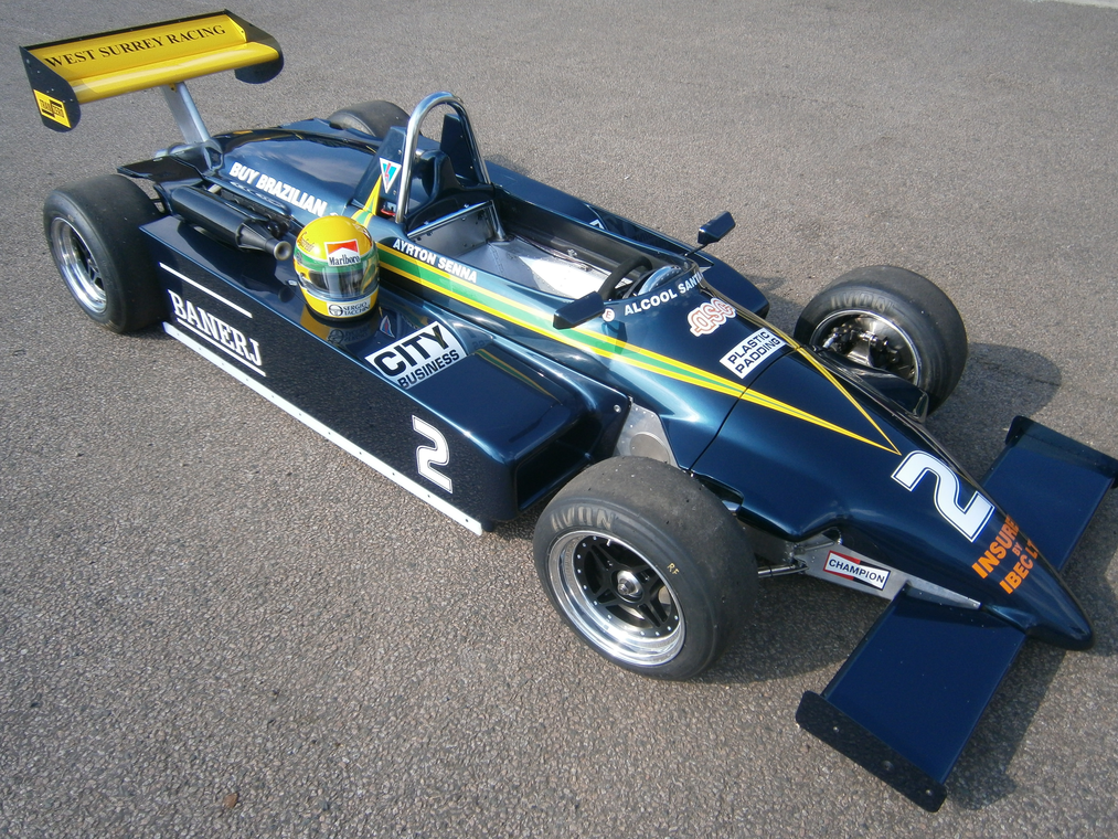 the ayrton senna s first formula 3 car on the grid circuit de magny cours. Black Bedroom Furniture Sets. Home Design Ideas