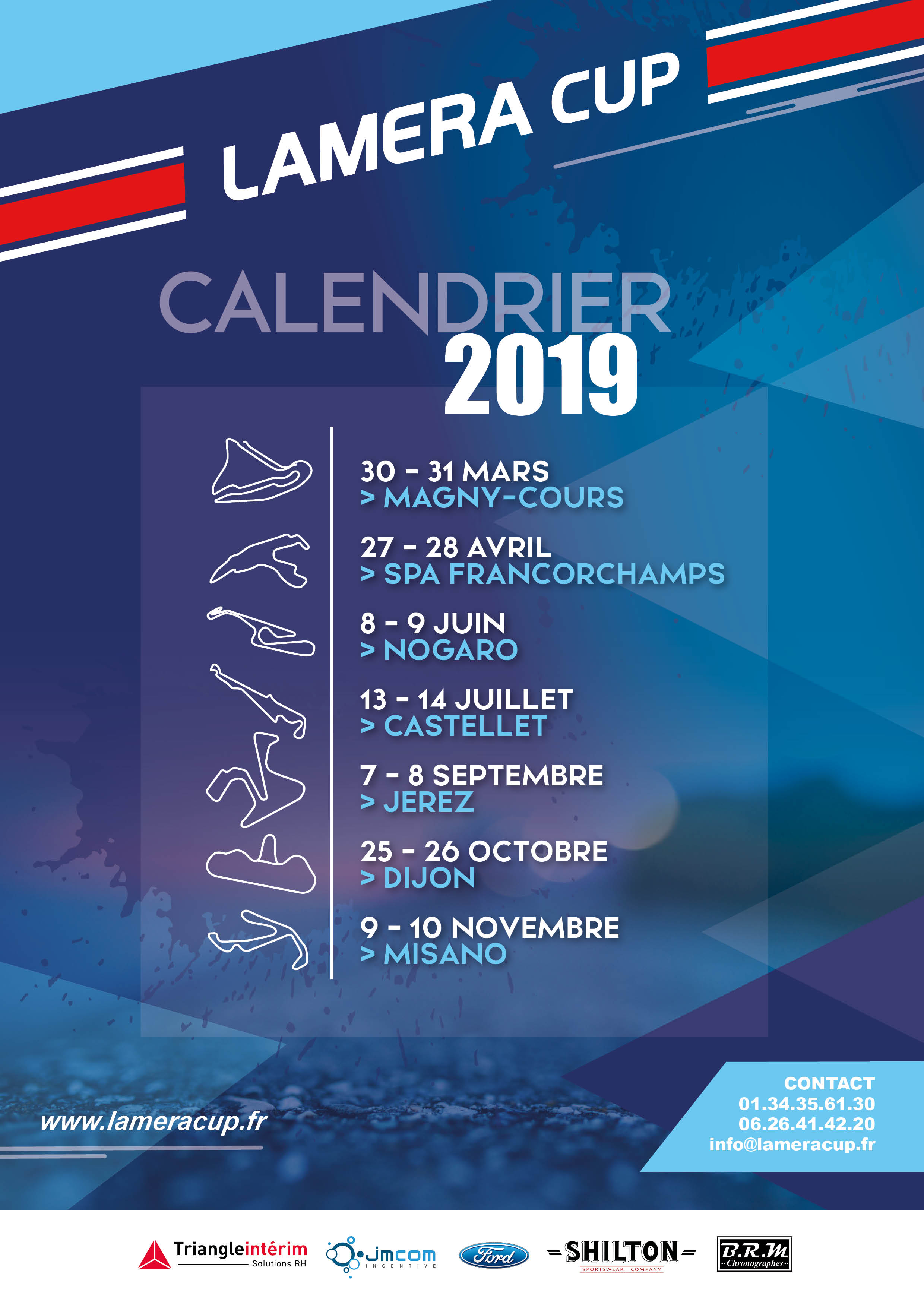 Calendrier Magny Cours 2020.Lamera Cup Circuit De Magny Cours