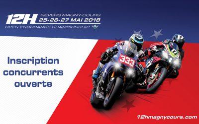 12H de Nevers Magny-Cours : Inscription ouverte.