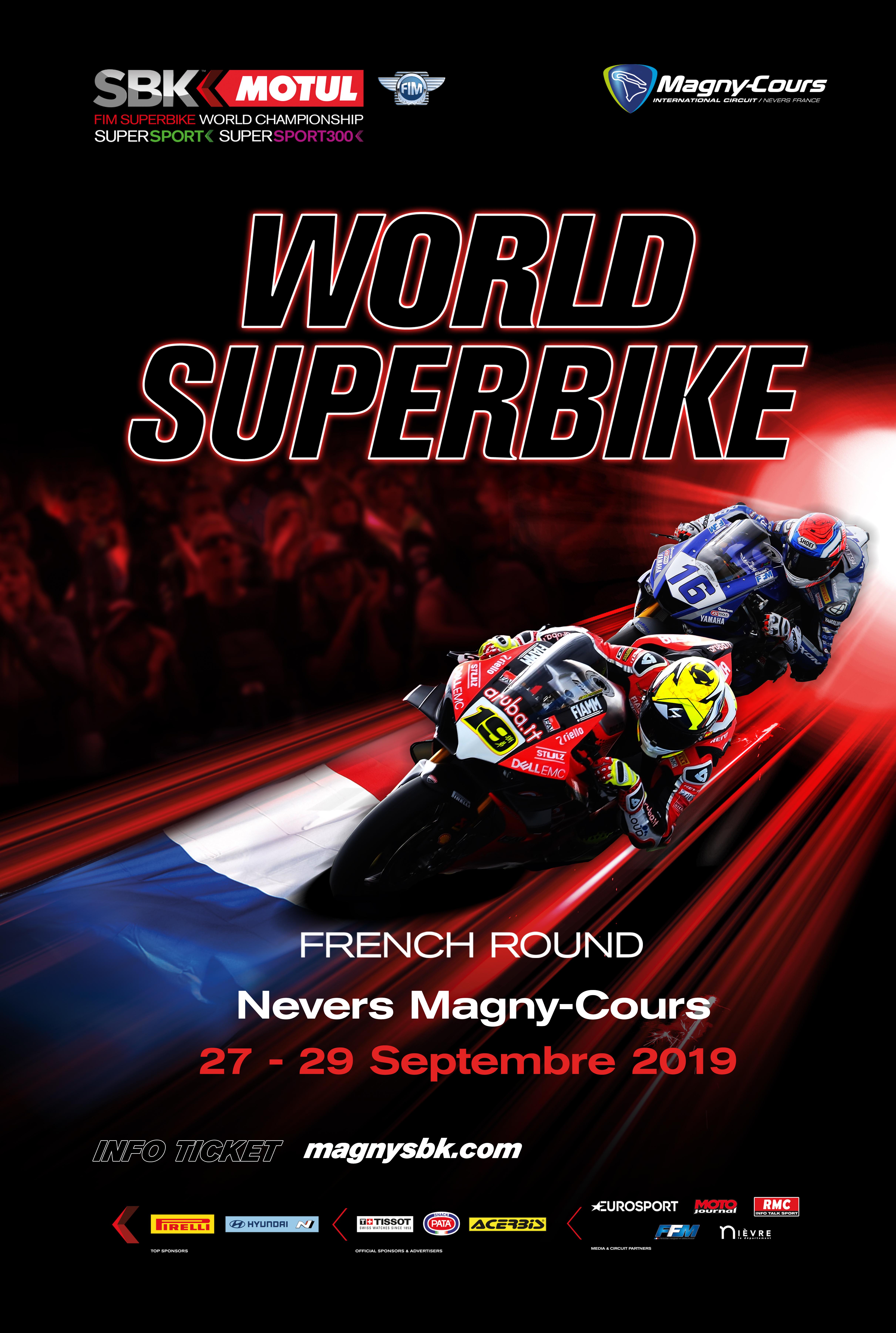 Calendrier Wsbk.Motul Fim World Superbike Championship Circuit De Magny Cours