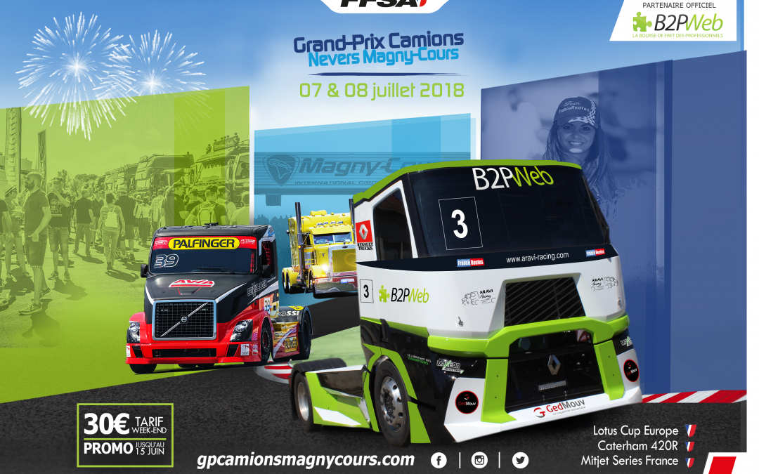 M-1 to the return of the Truck Grand Prix!