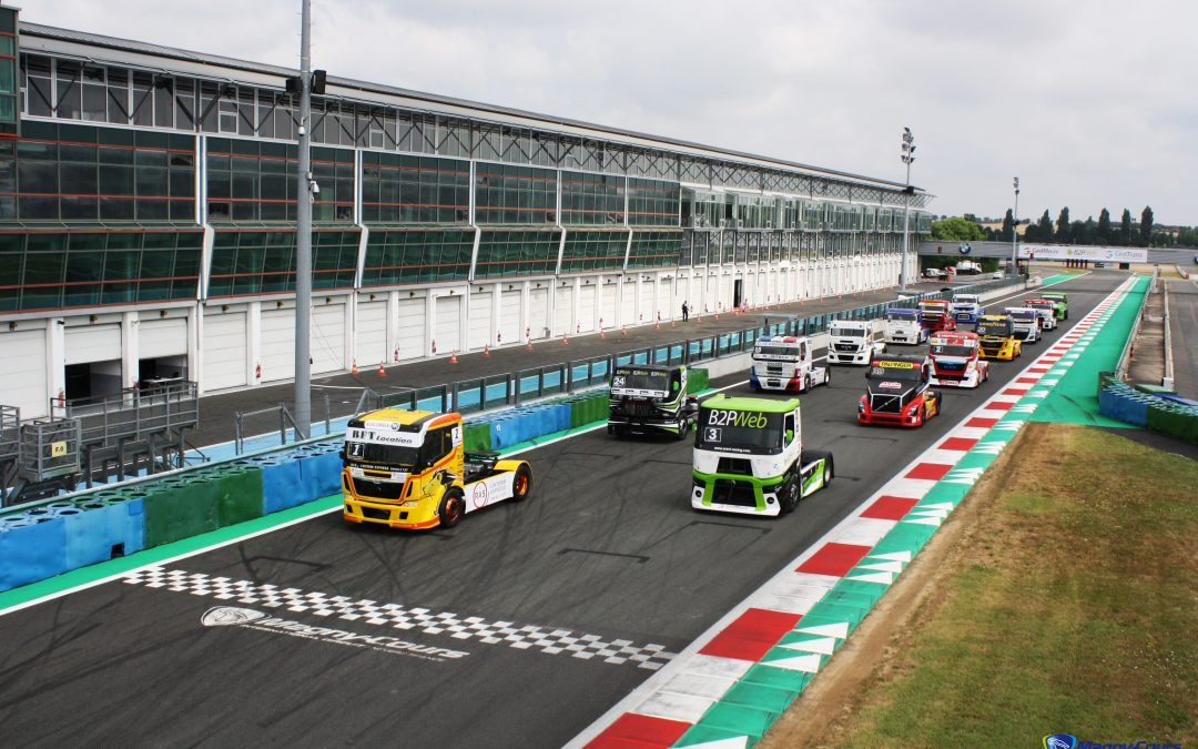 Résumés vidéos Grand Prix Camions Nevers Magny-Cours 2018