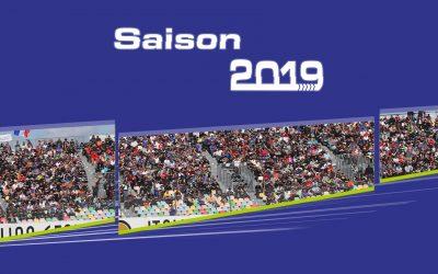 La saison 2019 est lancée ! Voici le calendrier des événements