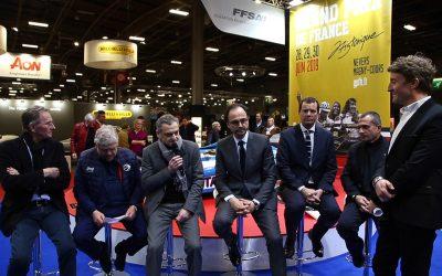Conférence de presse du Grand Prix de France Historique 2019 au salon Rétromobile