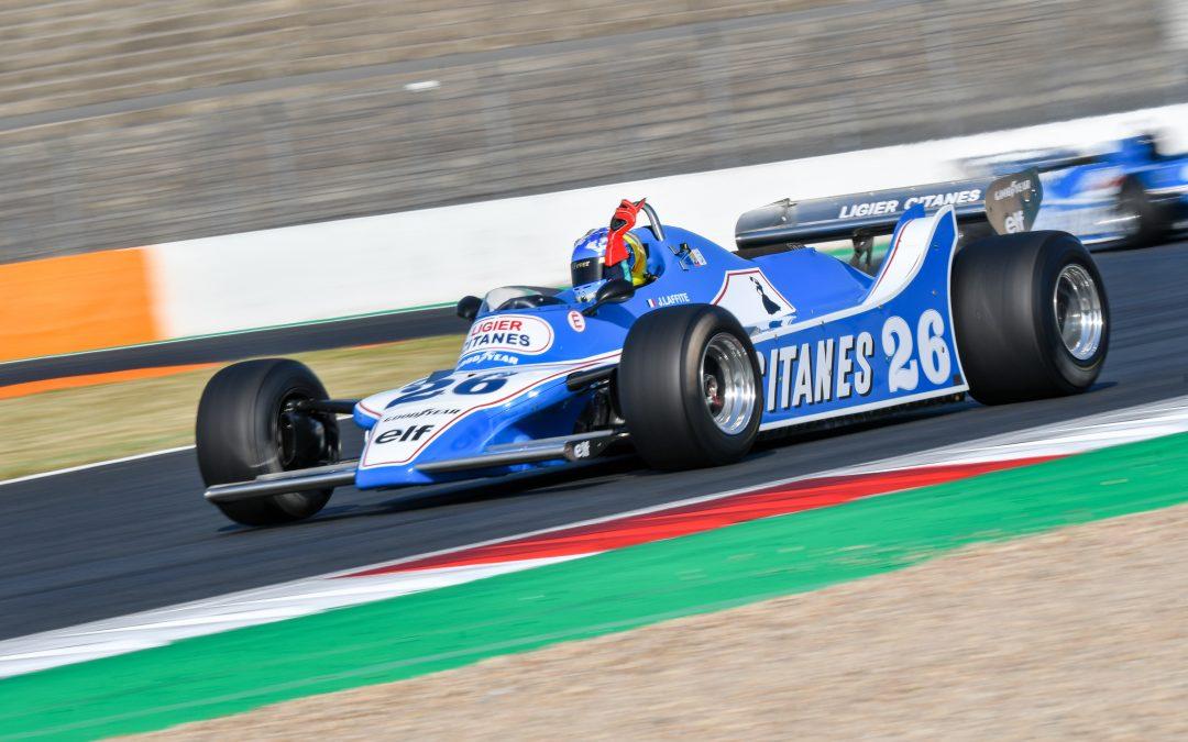 Jacques Laffite au volant de la Ligier JS11 !