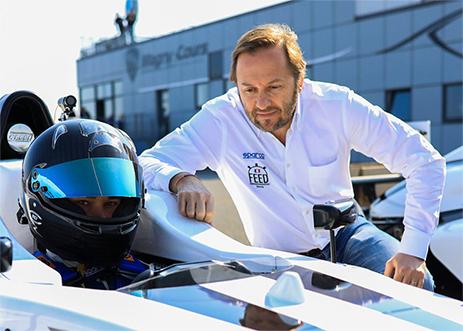 FEED RACING - Co-fondateur Patrick LEMARIÉ