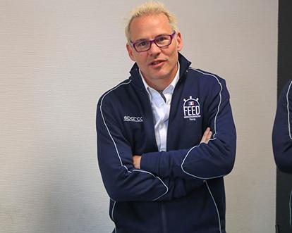 FEED RACING - Co-fondateur Jacques Villeneuve