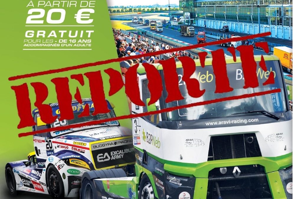 ANNULATION – GP CAMIONS 2020