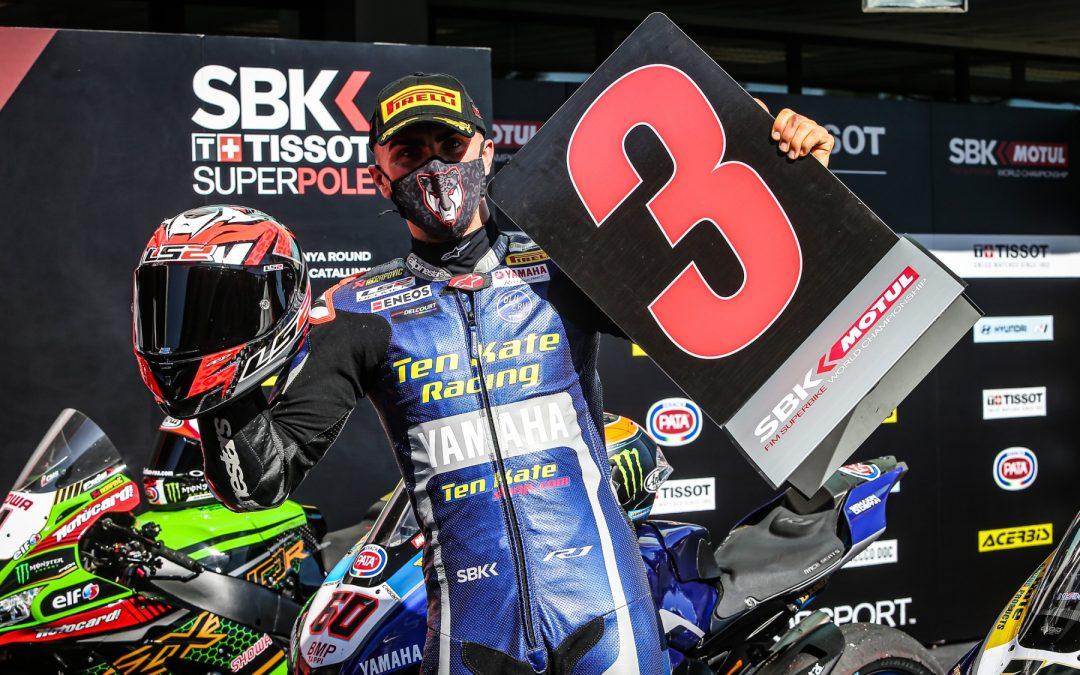 Loris BAZ a décroché son deuxième podium de la saison lors de la course sprint de Barcelone avec un troisième place !
