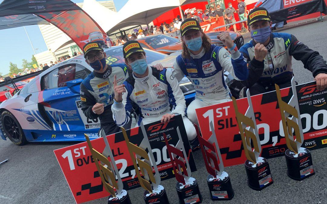 Victoire sensationnelle à domicile pour Sainteloc Racing, Gachet et Palette triomphent à Magny-Cours.