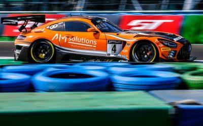 Stolz donne la première pole à HRT Mercedes-AMG pour la course nocturne de Magny-Cours