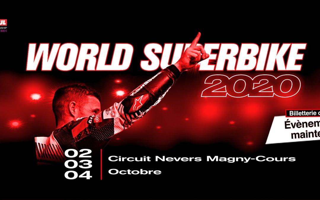 Championnat du Monde MOTUL FIM Superbike 2020 – Protocole sanitaire