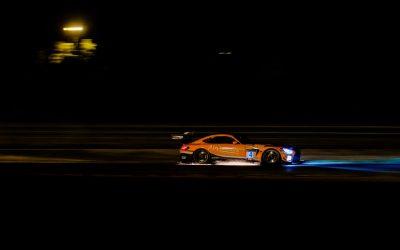 Stolz et Engel dominent la course nocturne de Magny-Cours pour remporter la première victoire de HRT Mercedes-AMG