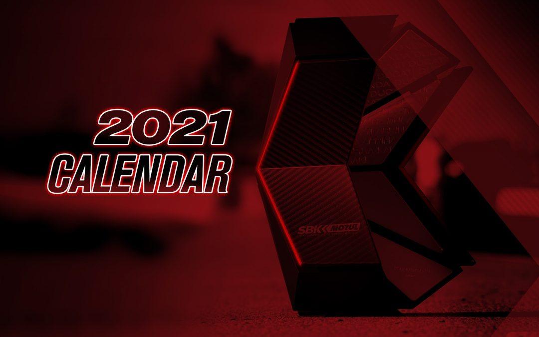 Le calendrier WorldSBK 2021 modifié