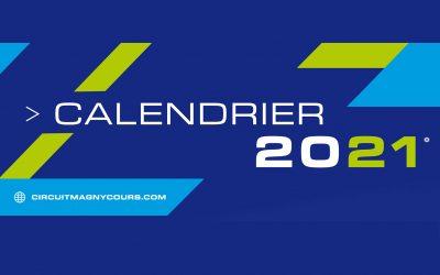 Calendrier des événements 2021