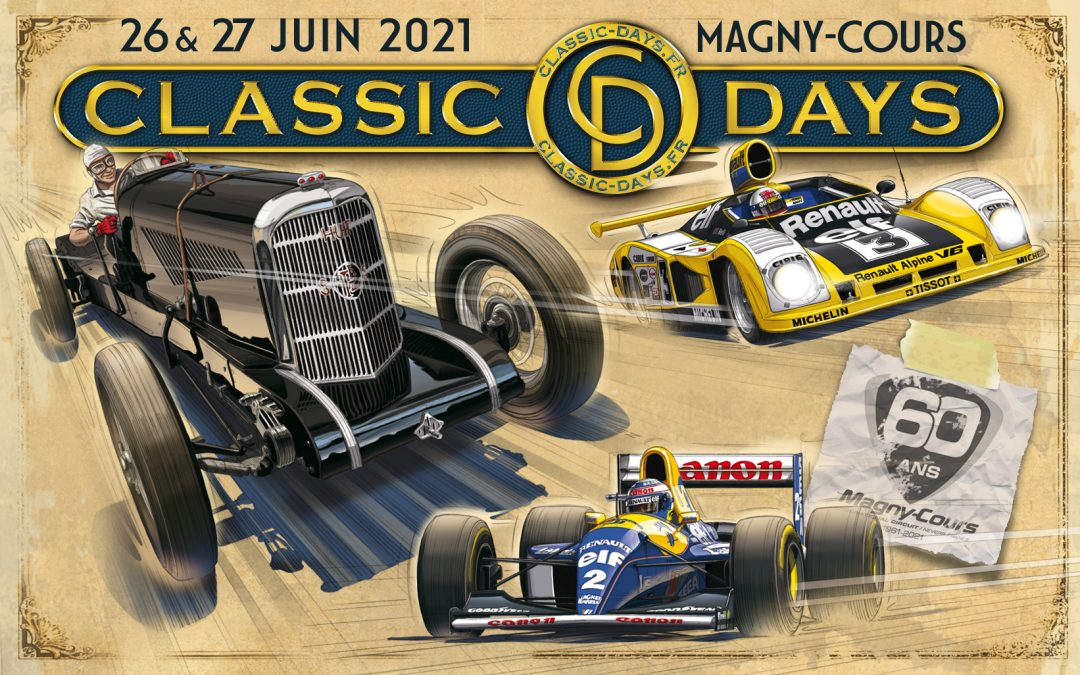 Les Classic Days 2021 reportés en juin !