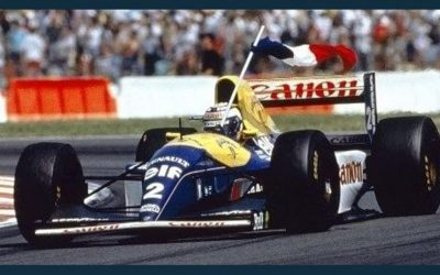 Classic Days: The 1993 Williams-Renault FW15C is back at Nevers Magny-Cours!
