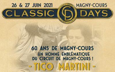 Classic Days : 60 ans de Nevers Magny-Cours – Tico Martini, un homme emblématique
