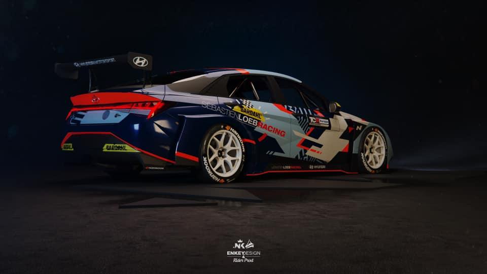 Le Sébastien Loeb Racing en essais TCR à Nevers Magny-Cours