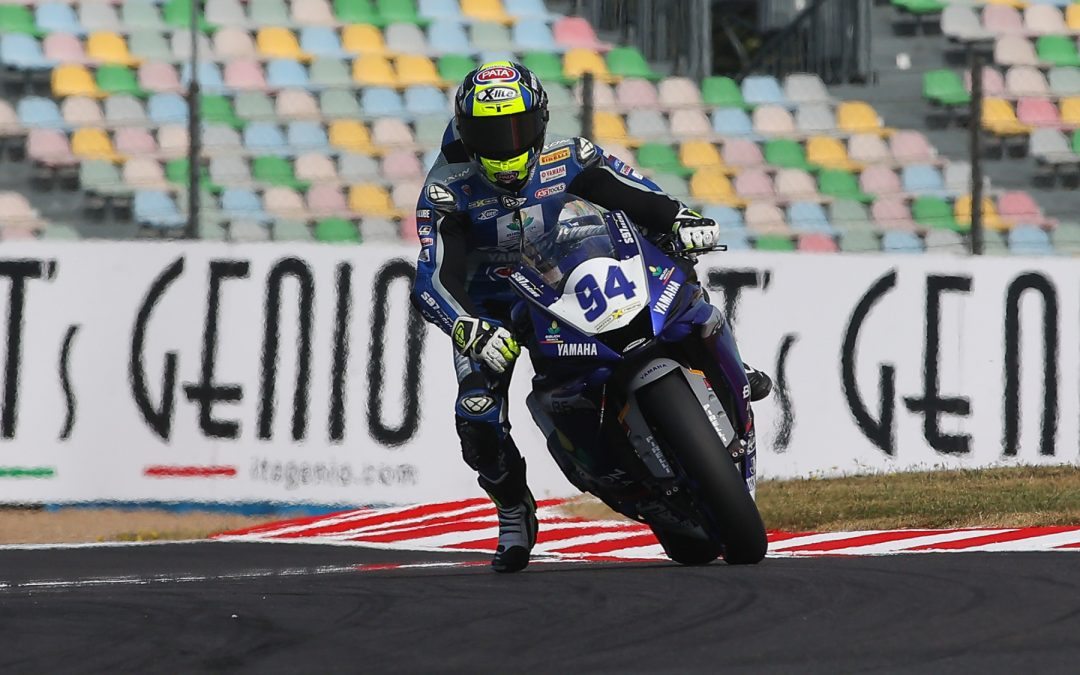 Caricasulo narrowly beats Cluzel in tightly contested WorldSSP FP1 at Magny-Cours