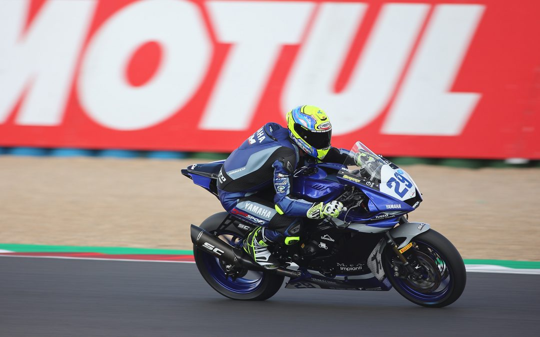 Bernardi smashes WorldSSP Superpole record at Magny-Cours to claim historic maiden pole
