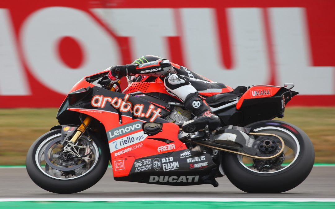Redding on top after FP3 at Magny-Cours with scintillating pace