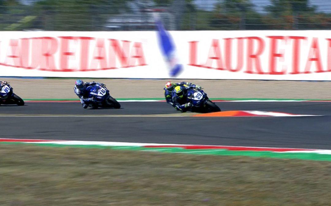CM Racing and GMT94 Yamaha provide updates on Bernardi and Cluzel